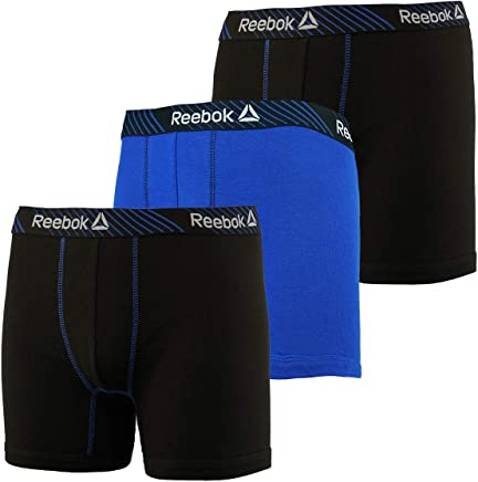 71cabffb48 Reebok Cotton Boxer Briefs - 3 Pack (183PB04)