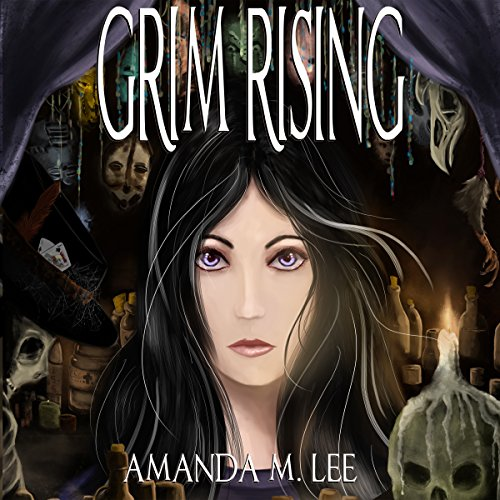 Grim Rising audiobook cover art
