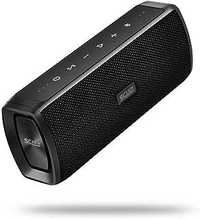 Bluetooth Speakers SCIJOY Portable Wireless Speaker IPX6 Waterproof Speaker 16W Bass Speakers Loud 360°Stereo Sound Bluetooth 4.2,12-Hour Playtime with 2600mAh Power Bank, Sports Outdoor