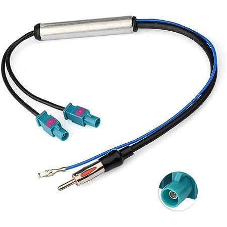 Fakra Din Antenne Adapter Phantom Verstärker Vag Audi Opel Usw Navigation
