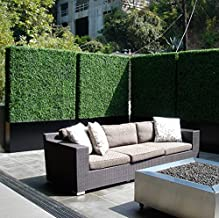 outdoor grass wall