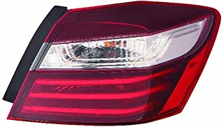 Fits Honda Accord Sedan 16 Tail Light Assembly Outer Passenger Side (NSF Certified)
