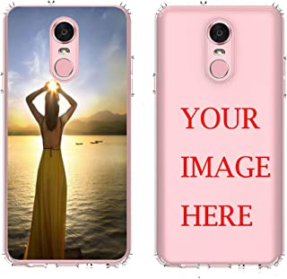 LG Stylo 4 Case,AMASELL Personalized Custom Picture Phone Case,Design Your own Inserts Online Shockproof Clear Transparent Soft Rubber Case,Make Your Unique Phone Case