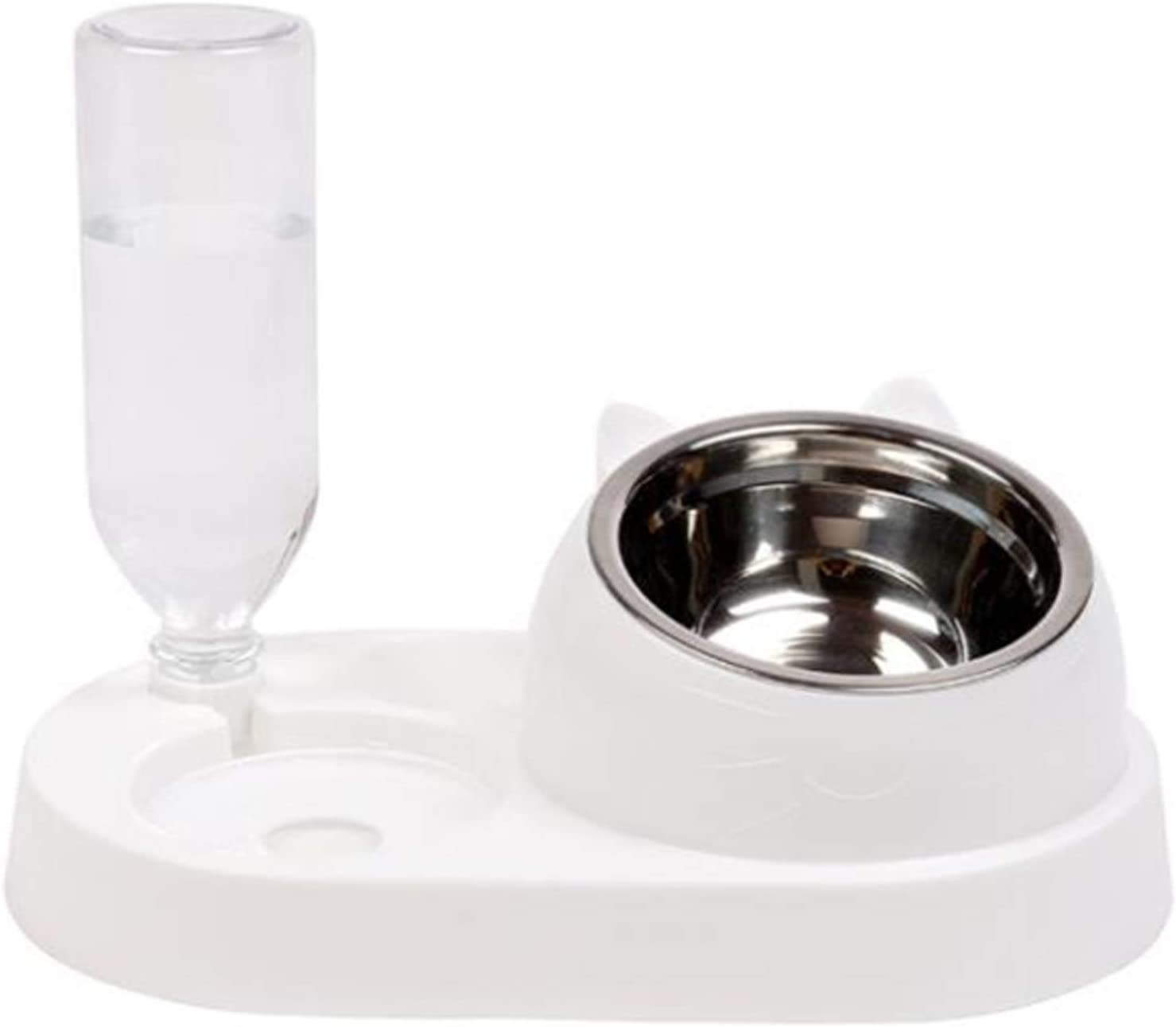 DNIEBW Cat NEW before selling ☆ Feeder Today's only Automatic Dog Di Bowls Water Pet