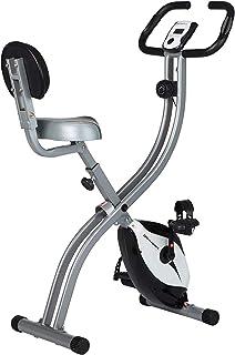 【Amazon限定ブランド】ウルトラスポーツ フィットネスバイク Fバイク/ワ-ク 折りたたみ式 (デジタルメーター・心拍センサー付き)
