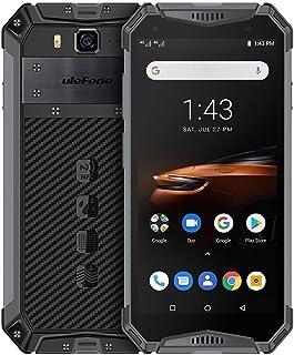 Shenzhen brand smartphone Armor 3W Rugged Phone, Dual 4G, 6GB+64GB, IP68/IP69K Waterproof Dustproof Shockproof, Face ID & Fingerprint Identification, 10300mAh Battery, 5.7 inch Android 9.0 MKT Helio P