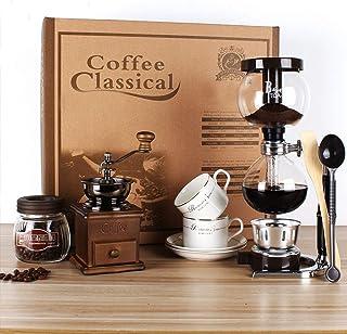 Nostalgia 7 Piezas Molinillos de Cafe Manuales Navidad Regalo Conjunto Incluir Molinillos..