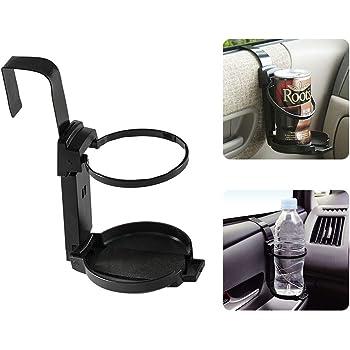 LITTLEMOLE Car Cup Holder, Vehicle Door Cup Holder, Adjustable Drink Holder for Truck Interior, Water Bottle Holder