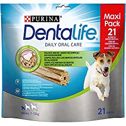 Purine dentalife is an innovative snack Dental scientifically shown to help clean hard to reach even the teeth of the back, which are the most vulnerable to the accumulation of plaque and descaler Ingredients with which you can really feel at ease An...