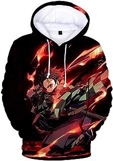 2019 New 3D Printing Anime Demon Slayer: Kimetsu no Yaiba Hoodies Men's and Women's Sweatshirts Long Sleeve Pullover