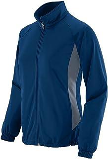 Augusta Sportswear Women's Medalist Jacket, womens, 4392-C, Navy/ Graphite, Small