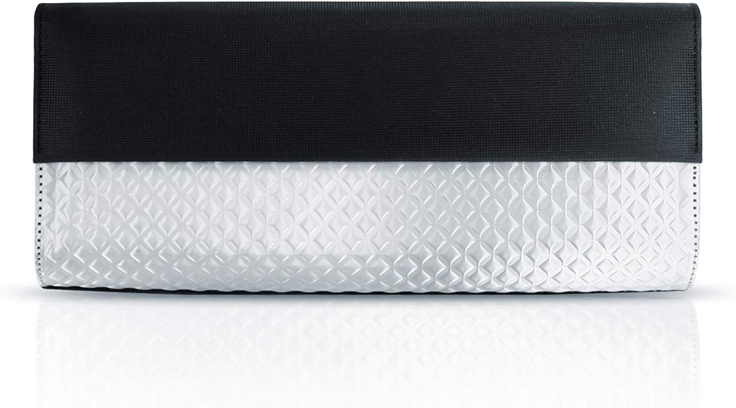 Stewart Stand Clutch No. 5, Diamond Horizon, Black