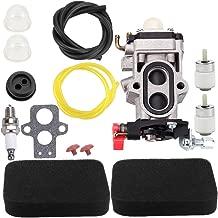 Kuupo 581177001 WYA-56 Carburetor with Air Fuel Filter Line for Husqvarna 580BTS 580BFS RedMax Leaf Blower BZ7001 EBZ7001RH EBZ7001CA EBZ7001RHCA Parts WYA-44 WYA-64 WYA-155 Carb