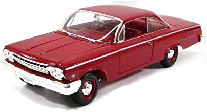 Maisto Red 1962 Chevrolet Bel Air - 1:18 Diecast Model Car Black Special Edition