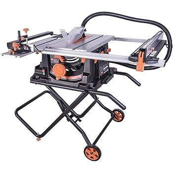 Evolution Power Tools 057-0003 Sierra de mesa multimaterial Rage 5-S, 1500 W, 230 V, 255 mm