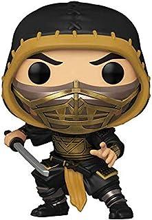 Funko Pop! Movies: Mortal Kombat - Figura de vinilo Scorpion (estilos pueden variar)