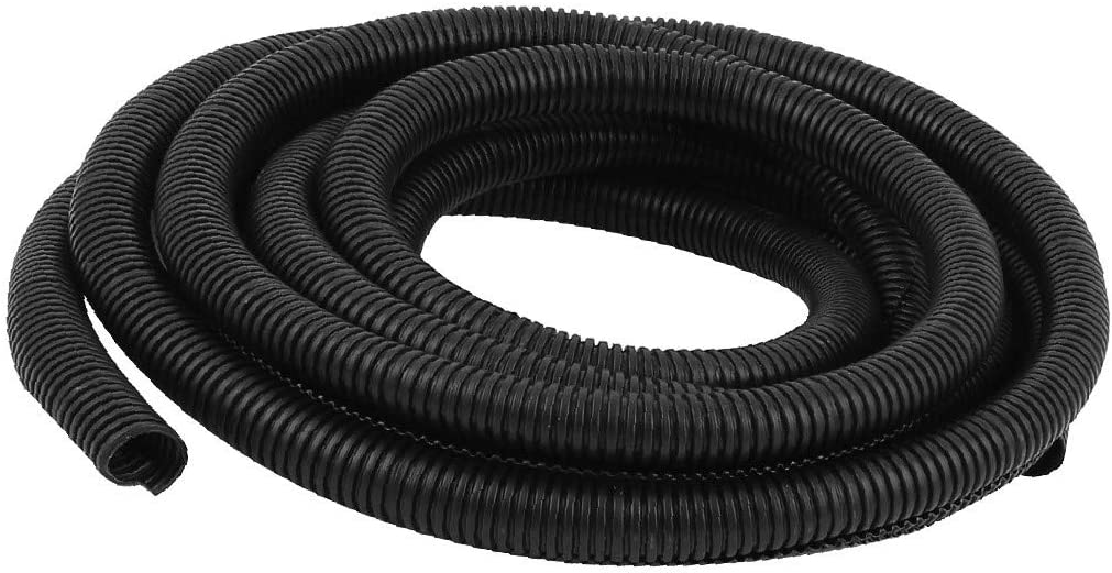 Fresno Mall X-DREE Corrugated Wire Cable Conduit Tubing 20mm Product 5M Tube OD Wrap