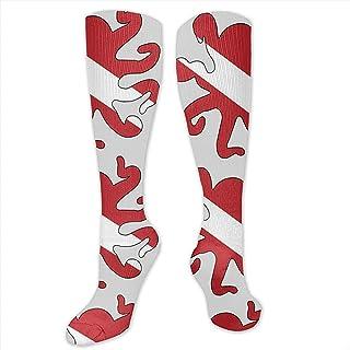 WlyFK, Calcetines cortos acolchados para acampar y hacer ejercicio, para hombre o niño
