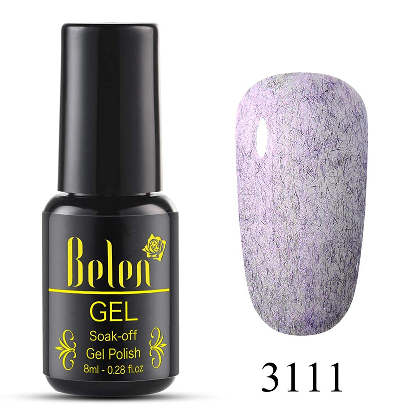 昆虫口述電話Belen ジェルネイル カラージェル 貝殻毛皮系 1色入り 8ml【全12色選択可】
