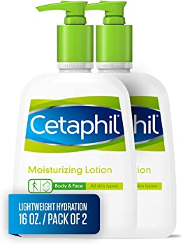2-Pack Cetaphil Body & Face Moisturizing Lotion, 16 Fl Oz