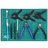 HSEAMALL 11PCS Gundam Model Building Craft Hobby Building Kit de herramientas para el modelo de ensamblaje de edificios