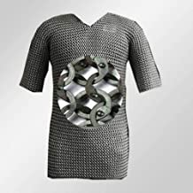 stainless steel riveted chainmail