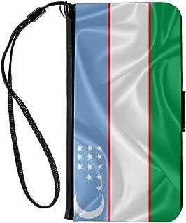 Rikki Knight iPhone 6 & 6s PU 钱包翻盖手机壳 - 突尼斯国旗RK-Flip6iPhone2877 Uzbekistan Flag Uzbekistan Flag