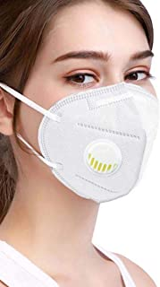 ORILEY K-N95 FDA Approved 5 Layer Disposable Face Mask with Filter & Nose Pin Respirator for Men & Women (1 pc)