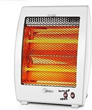 Calefactor, Calentador portátil - infrarrojo radiante Calentador Calentador de infrarrojos de cuarzo con 2 configuraciones de temperatura, tranquilo y la luz radiante del calentador de espacio y sin v