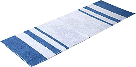 Chateau Home Collection Reversible Bath Rug Stripe 100% Pure Cotton Plush & Highly Absorbent Super Soft Thick Quick Dry No...