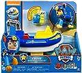 PAW Patrol Sea Patrol - Chase's Transforming Vehicle + Bonus Sea Friend de Spin Master