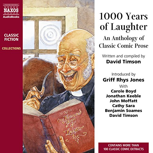 1,000 Years of Laughter audiobook cover art