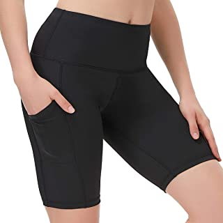 DILANNI High Waist Yoga Shorts for Women Workout Running Biker Shorts with Pockets