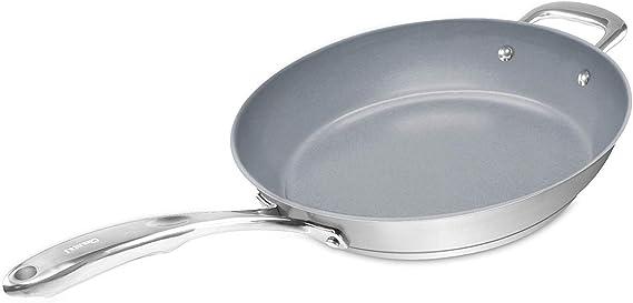 Chantal SLIN63-32C Induction 21 Fry Pan with Ceramic Coating