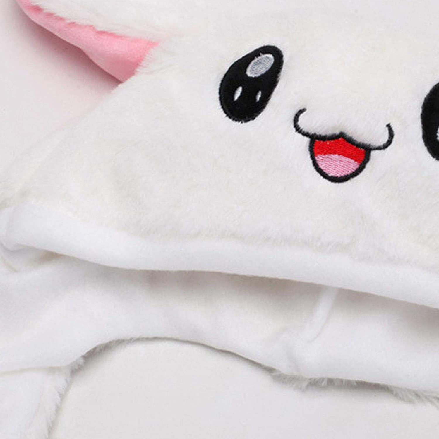 Moving Jumping Hat Funny Bunny Plush Hat Bunny Hat with Moving Ears Froggy Hat
