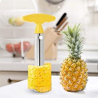 NNMNBV Pelador de Piña Cortador en Espiral Acero Inoxidable para Frutas Verduras Accesorios de Cocina