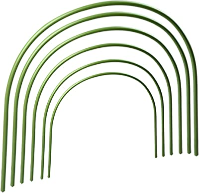 6X Long Coated Arch Bend Hoops Grow Tunnel greenhouse Growing Plant Arch pipe UK
