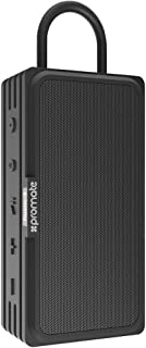Promate Bluetooth Speaker, Portable 4.2 Bluetooth 10W IPX6 Waterproof Wireless Speaker with Micro SD Card Slot and AUX lin...