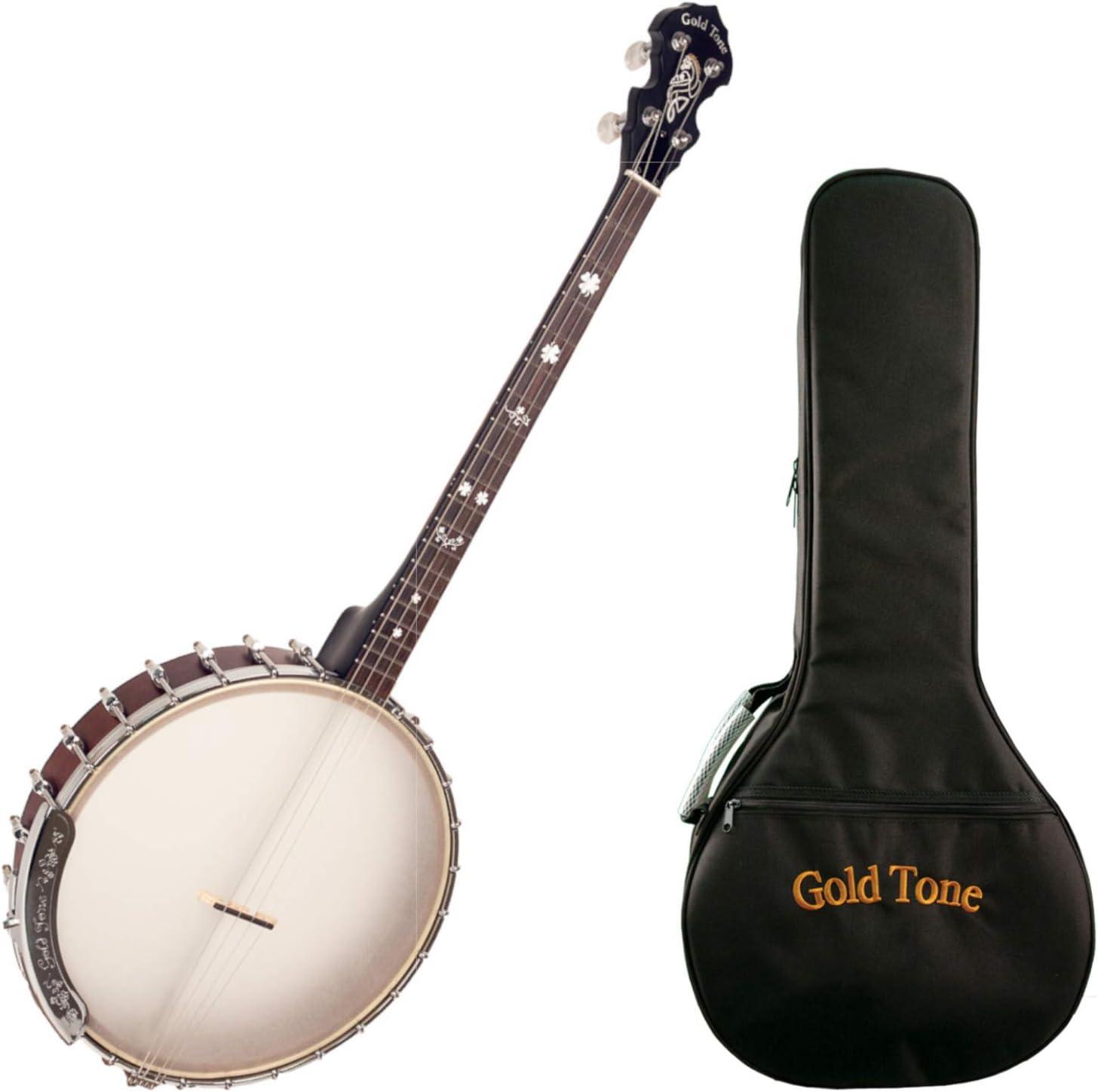 Goldtone IT-19 Irish Tenor w Bag Max 67% OFF Banjo Selling rankings