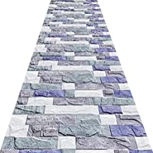 Non-Slip Carpet YANZHEN Hallway Runner Rugs Corridor Carpet Moisture Proof 6mm Thick Machine Washable Blended Fiber Non-Sl...