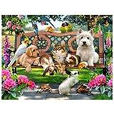Kit per il fai da te Demiawaking, immagine a mosaico con diamantini 5D, dipinto, per casa,...