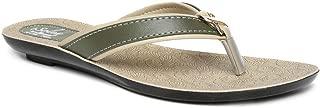 PARAGON SOLEA Women's Green Flip-Flops