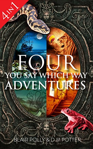 Box Set: Four You Say Which Way Adventures: Pirate Island, In the Magician's House, Lost in Lion Country, Once Upon an Island (English Edition)