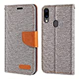 Umidigi A3 Case, Oxford Leather Wallet Case with Soft TPU