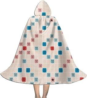 Scrabble Children Kids Cloak Cape Role Play Coaplay Cloak