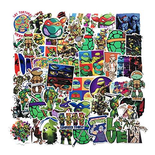 50Pcs Teenage Mutant Ninja Turtles Waterproof Stickers for Water...