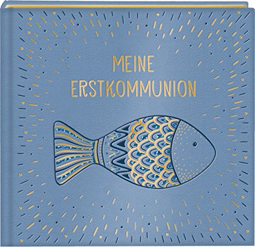 Eintragalbum - Meine Erstkommunion (Fisch)
