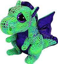 Ty Beanie Boos Cinder The Green Dragon Plush