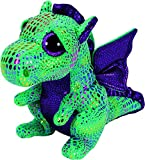 Ty Beanie Boos Cinder The Green Dragon Plush 6""