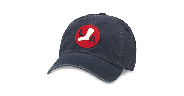 American Needle Archive Negro League Los Angeles White Sox Baseball Hat 44747A-LAW-NAVY